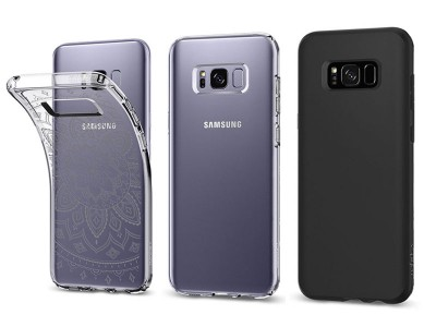 قاب محافظ اسپیگن سامسونگ Spigen Liquid Crystal Case For Samsung Galaxy S8
