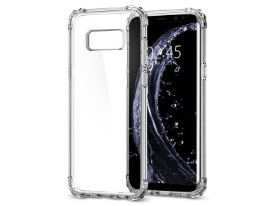 قاب محافظ اسپیگن سامسونگ  Spigen Crystal Shell Case For Samsung Galaxy S8 Plus