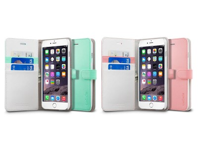 کیف محافظ اسپیگن Spigen Wallet S Case For Apple iPhone 6 Plus