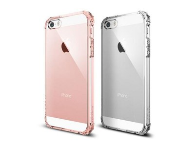 قاب محافظ اسپیگن Spigen Crystal Shell Case For Apple iPhone SE