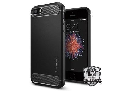 قاب محافظ اسپیگن Spigen Rugged Armor Case For Apple iPhone SE