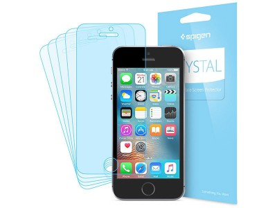 محافظ صفحه نمایش اسپیگن Spigen Crystal Screen Protector For Apple iPhone SE