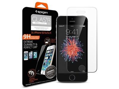 محافظ صفحه نمایش گلس اسپیگن Spigen GLAS.tR SLIM HD For Apple iPhone SE