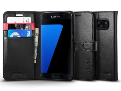 کیف محافظ چرمی اسپیگن Spigen Wallet S Case For Samsung Galaxy S7
