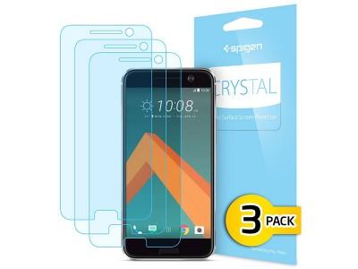 محافظ صفحه نمایش اسپیگن Spigen Screen Protector Crystal For HTC 10