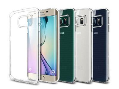 قاب محافظ اسپیگن Spigen Liquid Crystal Case For Samsung Galaxy S6 Edge