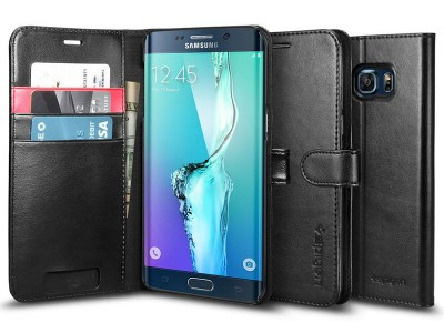 کیف محافظ اسپیگن Spigen Wallet S Case For Samsung Galaxy S6 Edge Plus