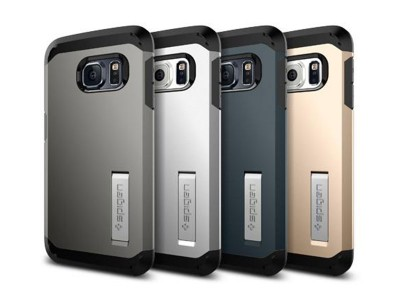قاب محافظ اسپیگن Spigen Tough Armor Case For Samsung Galaxy S6 Edge