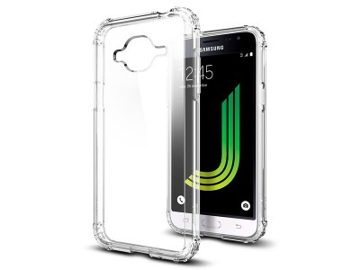 قاب محافظ اسپیگن Spigen Crystal Shell Case For Samsung Galaxy J3 2016