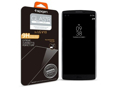 محافظ صفحه نمایش گلس اسپیگن Spigen GLAS.tR Slim Screen Protector For LG V10