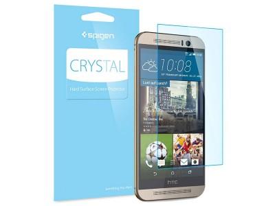 محافظ صفحه نمایش اسپیگن Spigen Crystal Screen Protector For HTC M9