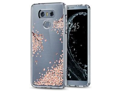 قاب محافظ اسپیگن Spigen Crystal Shell Blossom Case For LG G6