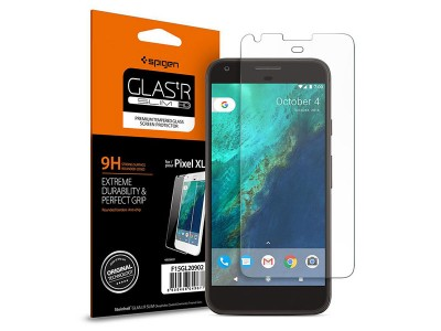 محافظ صفحه نمایش گلس اسپیگن Spigen Glass.tr Slim HD Screen Protector For Google Pixel XL