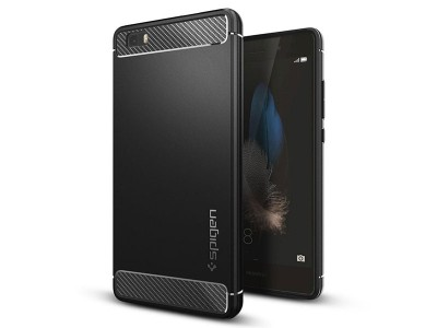 قاب محافظ اسپیگن Spigen Rugged Armor Case For Huawei P8 Lite