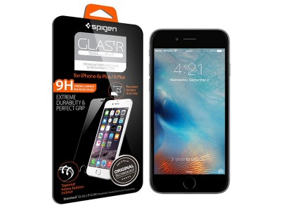 محافظ صفحه نمایش گلس اسپیگن Spigen Glass.tr Slim Screen Protector For Apple iPhone 6 Plus