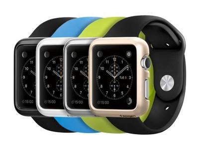 قاب محافظ اپل واچ اسپیگن Spigen Thin Fit Case For Apple Watch 1 38mm