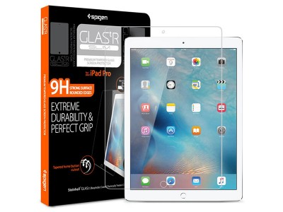 محافظ صفحه نمایش ایپد اسپیگن Spigen GLAS.tR Slim Screen Protector For Apple iPad Pro 12.9