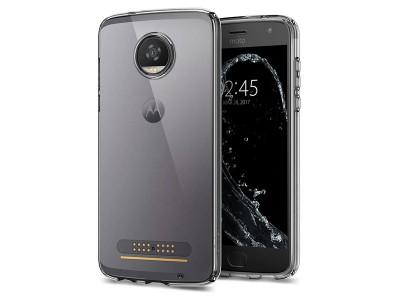 قاب محافظ اسپیگن Spigen Liquid Crystal Case For Motorola Moto Z2 Play