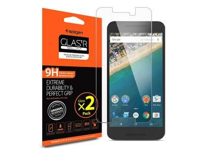 محافظ صفحه نمایش گلس اسپیگن Spigen GLAS.tR Screen Protector For Nexus 5X
