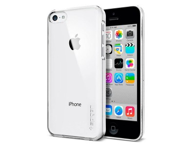 قاب محافظ اسپیگن Spigen Ultra Fit Crystal Clear Case For iPhone 5C