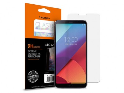 محافظ صفحه نمایش اسپیگن Spigen GLAS.tR Slim Screen Protector For LG G6