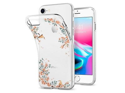 قاب محافظ اسپیگن Spigen Liquid Crystal Nature Case For Apple iPhone 8