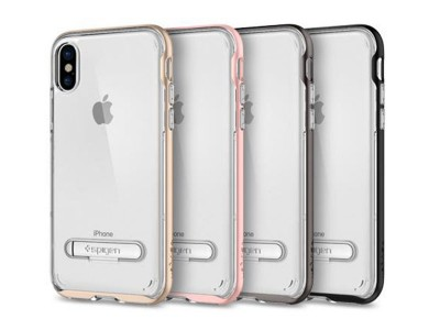 قاب محافظ اسپیگن Spigen Crystal Hybrid Case For Apple iPhone X