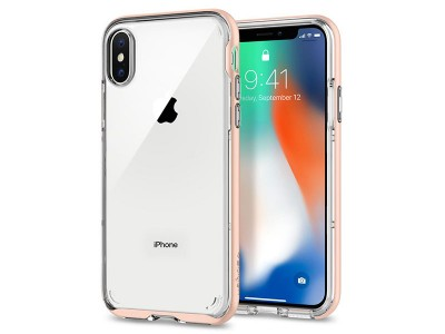 قاب محافظ اسپیگن Spigen Neo Hybrid Crystal Case For Apple iPhone X