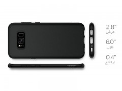 قاب محافظ اسپیگن سامسونگ Spigen Liquid Crystal Case For Samsung Galaxy S8