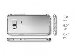 قاب محافظ اسپیگن سامسونگ  Spigen Crystal Shell Case For Samsung Galaxy S8 Plus