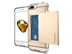 قاب محافظ اسپیگن Spigen Crystal Wallet Case For Apple iPhone 7 Plus
