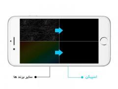 محافظ صفحه نمایش اسپیگن Spigen Screen Protector Crystal For Apple iPhone 6s Plus