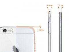 محافظ صفحه نمایش اسپیگن Spigen Screen Protector Crystal For Apple iPhone 6s