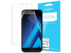 محافظ صفحه نمایش اسپیگن Spigen Screen Protector Crystal For Galaxy Note 5