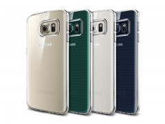 قاب محافظ اسپیگن Spigen Liquid Crystal Case For Samsung Galaxy S6