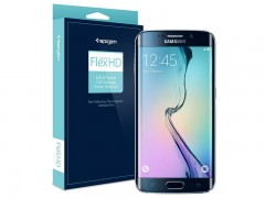 محافظ صفحه نمایش اسپیگن Spigen Screen Protector Flex For Samsung Galaxy S6 Edge
