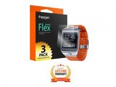 محافظ صفحه نمایش اسپیگن ساعت هوشمند سامسونگ Spigen Screen Protector Steinheil Flex For Samsung Smart Watch Gear S2