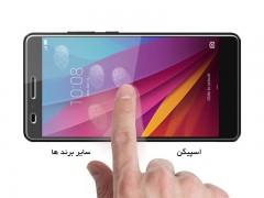 محافظ صفحه نمایش اسپیگن Spigen Glas.tr Slim Screen Protector For Huawei Honor 5X