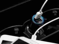 شارژر فندکی اسپیگن Spigen Compact Car Charger Kuel P12Q/C Dual