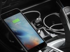 شارژر فندکی اسپیگن Spigen F24QC Dual Port USB Car Charger