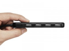 هاب یو اس بی اسپیگن Spigen Essential® F100 4 Ports Ultra Slim USB 2.0 Gen 1 Hub