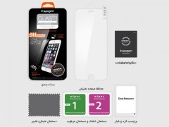 محافظ صفحه نمایش گلس اسپیگن Spigen Glass.tr Slim Screen Protector For Apple iPhone 6