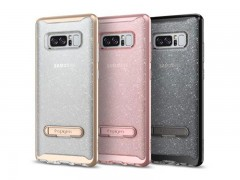 قاب محافظ اسپیگن Spigen Crystal Hybrid Glitter Case For Samsung Galaxy Note 8
