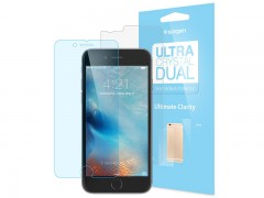 محافظ صفحه نمایش اسپیگن Spigen Ultra Crystal Dual Screen Protector For Apple iPhone 6S