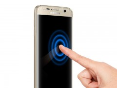 محافظ صفحه نمایش اسپیگن Spigen Screen Protector Curved Crystal HD For Samsung Galaxy S7 Edge