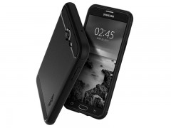 قاب محافظ اسپیگن Spigen Rugged Armor Case For Samsung Galaxy J7 2017