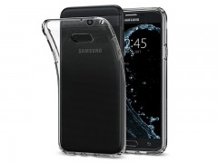 قاب محافظ اسپیگن Spigen Liquid Crystal Case For Samsung Galaxy J7 2017