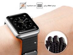 بند استیل اپل واچ اسپیگن Spigen Milanese Band A300 For Apple Watch 42mm
