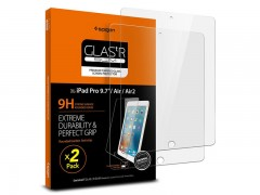 محافظ صفحه نمایش ایپد اسپیگن Spigen GLAS.tR Slim Screen Protector For Apple iPad Pro 9.7