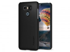 قاب محافظ اسپیگن Spigen Jet Black™ Fit Case For LG G6